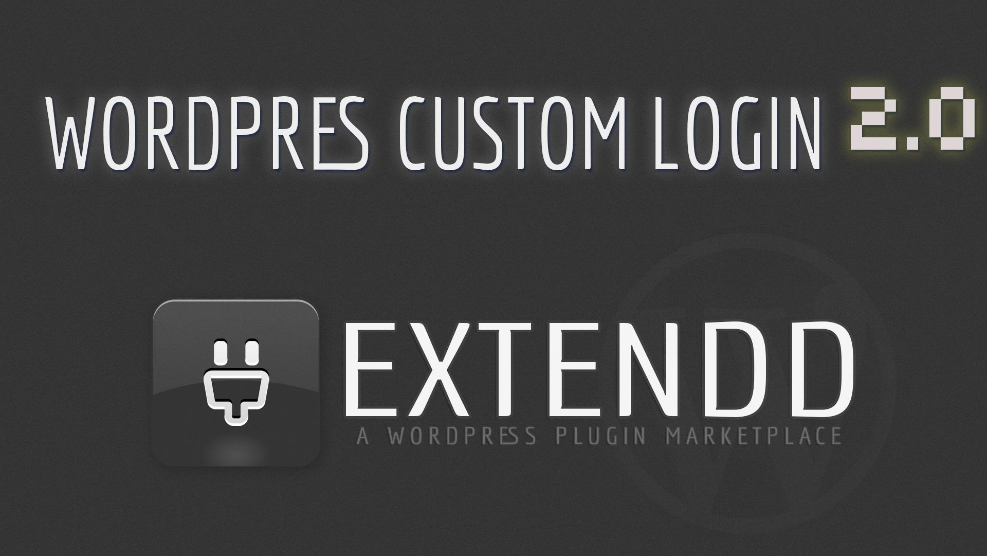 Custom Login 2.0