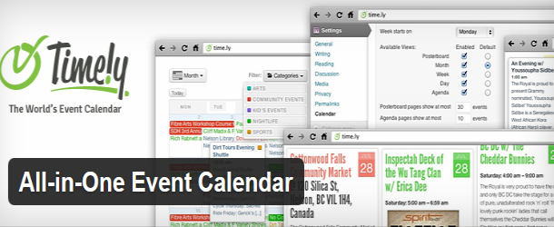 All in One Event Calendar WordPress custom permalink slug and archive
